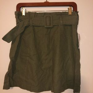 NWT BP Green Belted Skirt